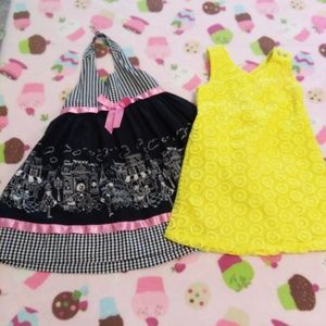 GIRL 3T - DRESSES - BUNDLE OF 2
